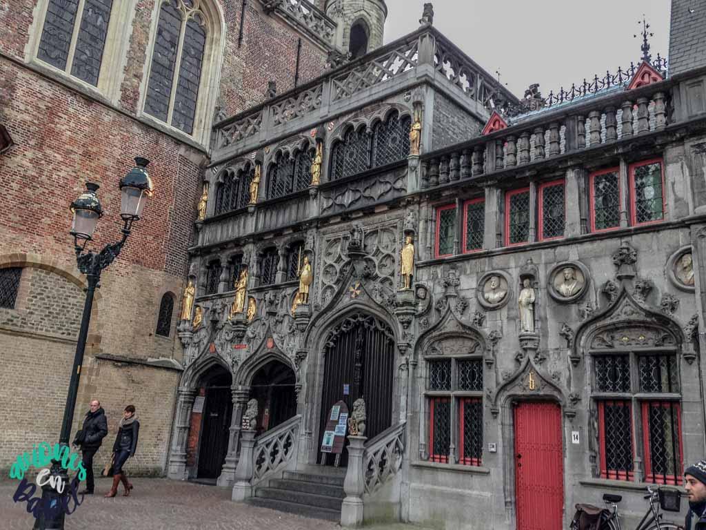 Basílica de la Santa Sangre. Qué ver y hacer en Brujas en 2 días