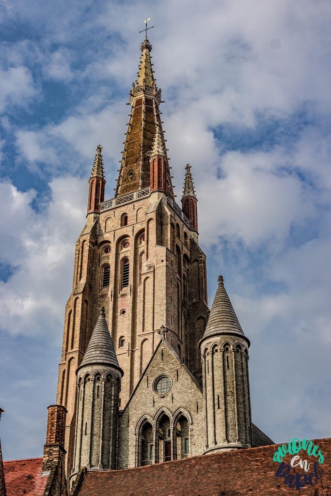 Iglesia de Nuestra Señora. Qué ver y hacer en Brujas en 2 días