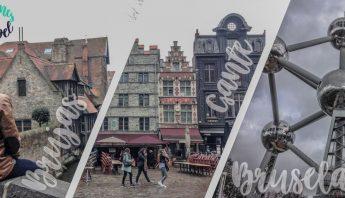 Organizar un viaje por belgica: brujas, gante, damme y bruselas