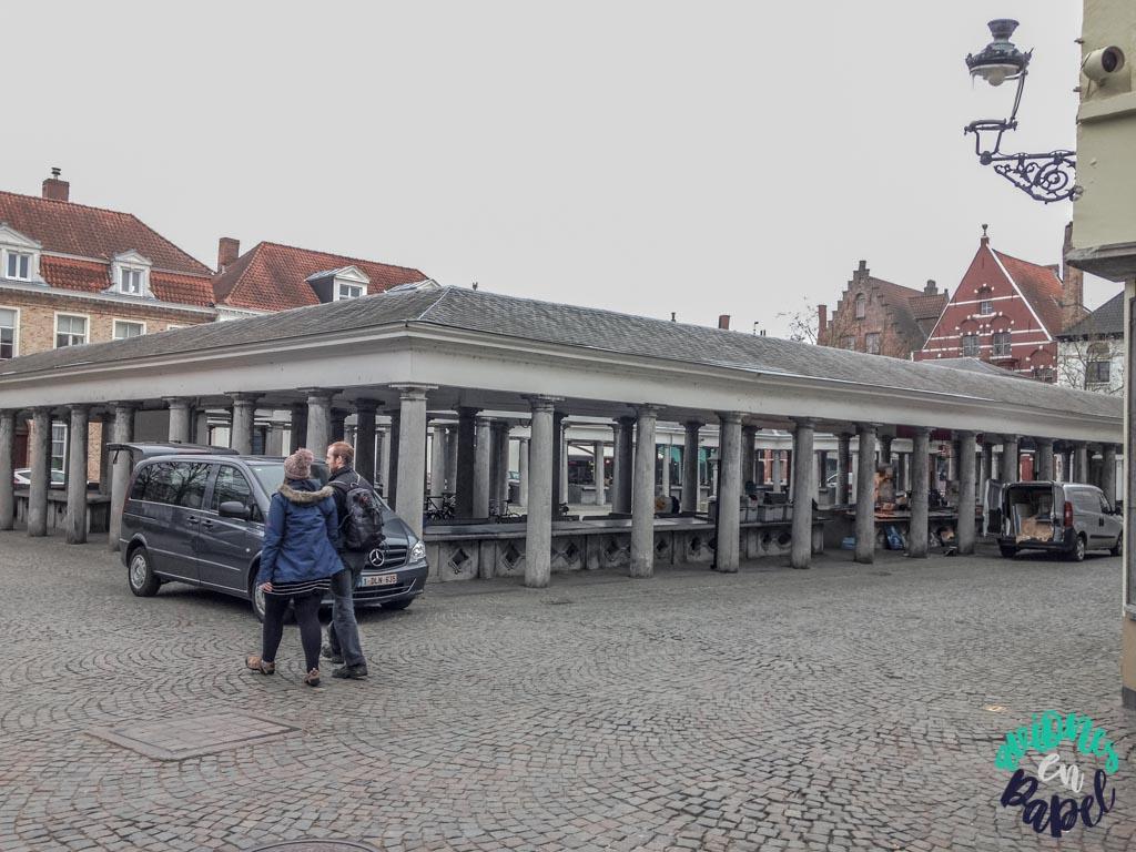 Vismarkt. Qué ver y hacer en Brujas en 2 días