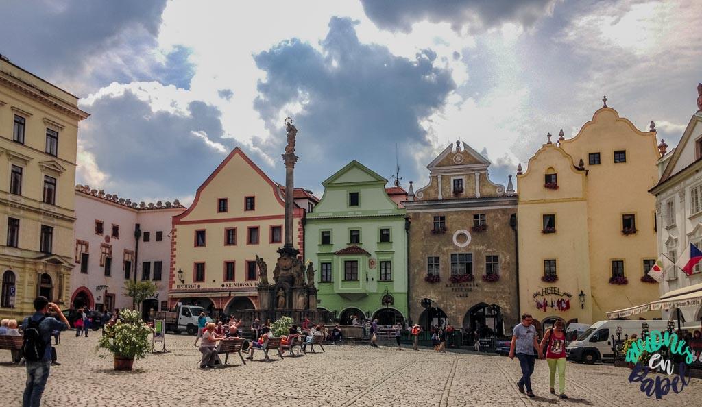 Plaza del Ayuntamiento. Qué ver y hacer en Cesky Krumlov en 1 o 2 días