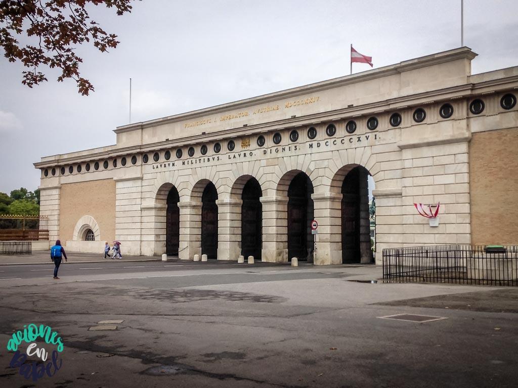 Puerta del Palacio. Viena