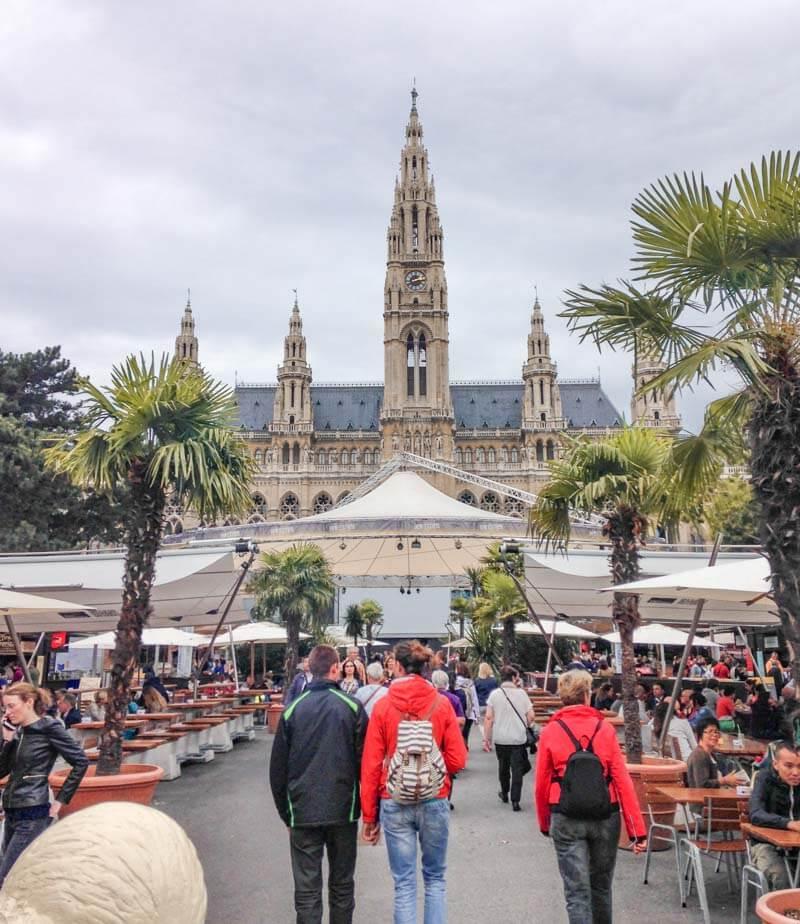 Ayuntamiento, Rathaus. Qué ver y hacer en Viena en 3 días