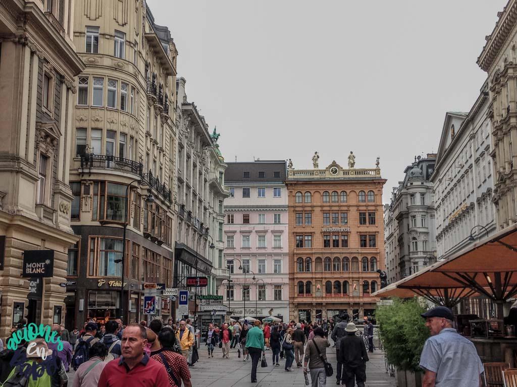 Calle Graben. Viena
