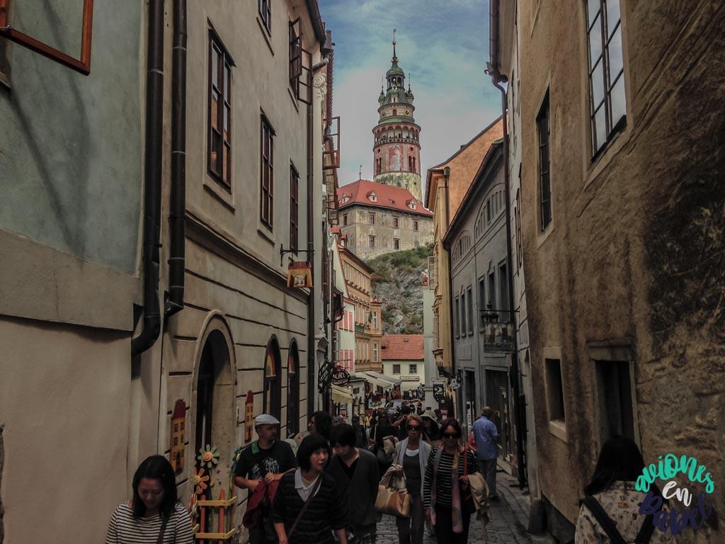 Calle Radnični. Qué ver y hacer en Cesky Krumlov en 1 o 2 días