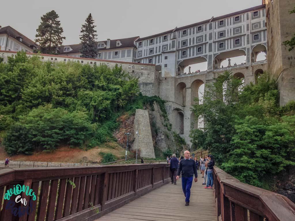 Puente de la Capa. Qué ver y hacer en Cesky Krumlov en 1 o 2 días