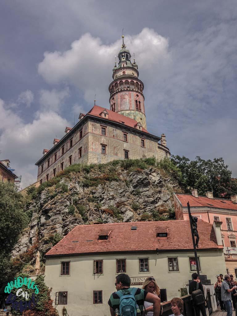 Torre del Castillo. Qué ver y hacer en Cesky Krumlov en 1 o 2 días