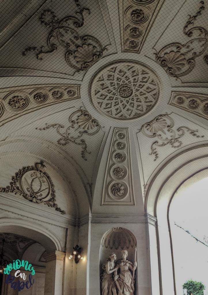 Cúpula de San Miguel del Palacio Imperial Hofburg. Viena