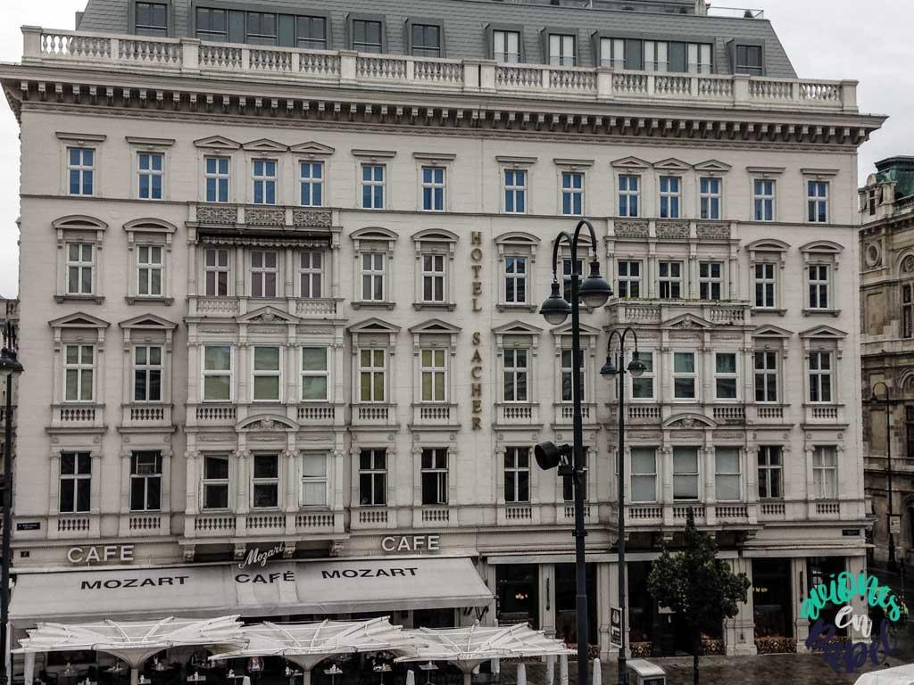 Hotel Sacher. Viena