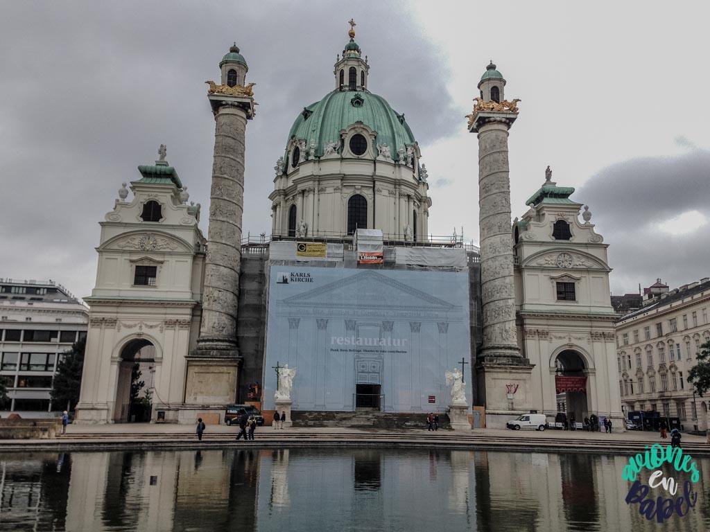 Karlskirche. Qué ver y hacer en Viena en 3 días