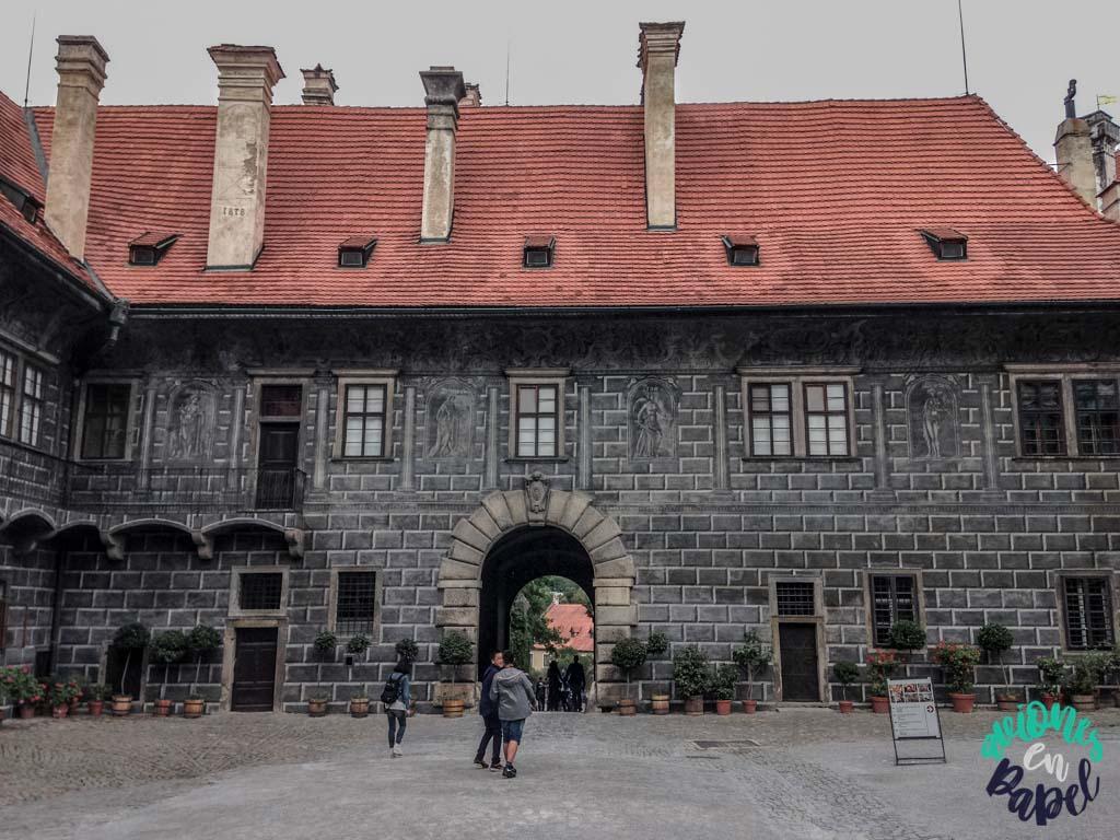 Lapidario del castillo. Qué ver y hacer en Cesky Krumlov en 1 o 2 días