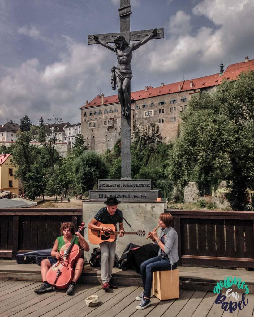 Lazebnický most. Qué ver y hacer en Cesky Krumlov en 1 o 2 días