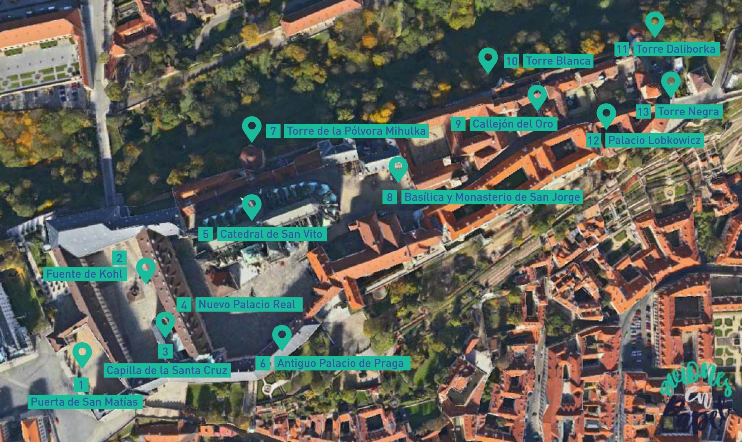 Castillo de Praga - Qué ver en Praga en 3 días