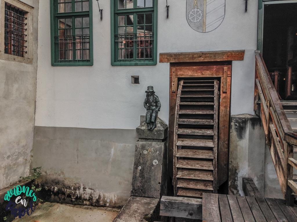 Antiguo molino. Qué ver y hacer en Cesky Krumlov en 1 o 2 días