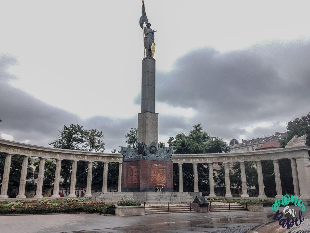Monumento a los Héroes del Ejército Rojo. Viena