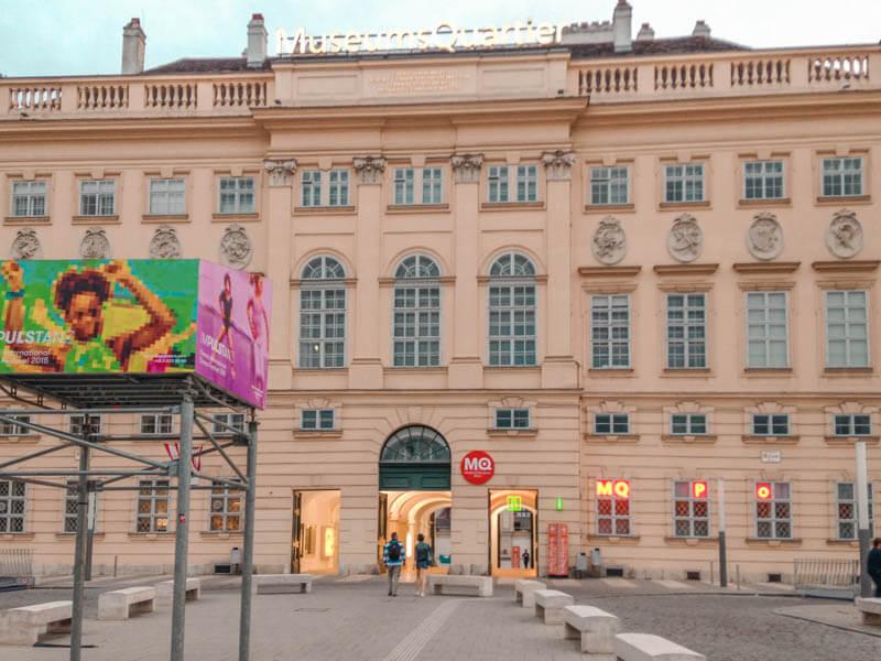 Museumsquartier. Qué ver y hacer en Viena en 3 días