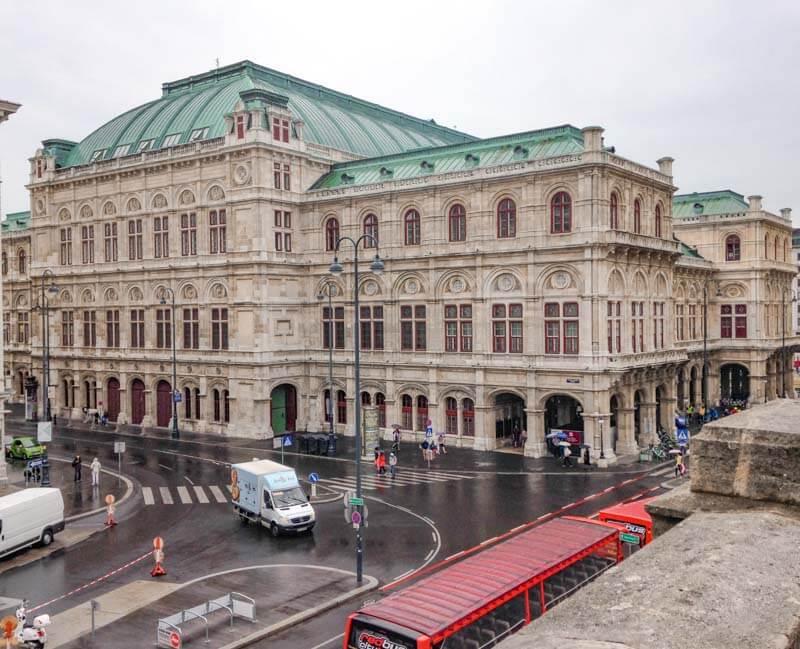 Ópera de Viena. Qué ver y hacer en Viena en 3 días