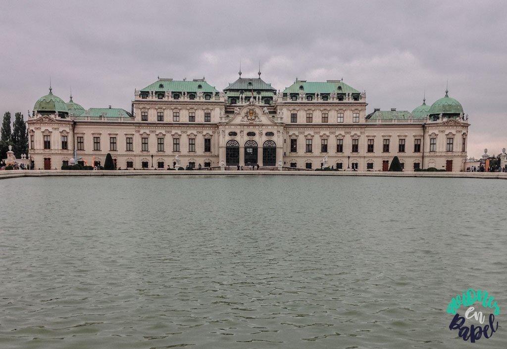 Palacio de Belvedere. Qué ver y hacer en Viena en 3 días