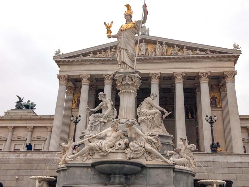 Parlamento. Qué ver y hacer en Viena en 3 días