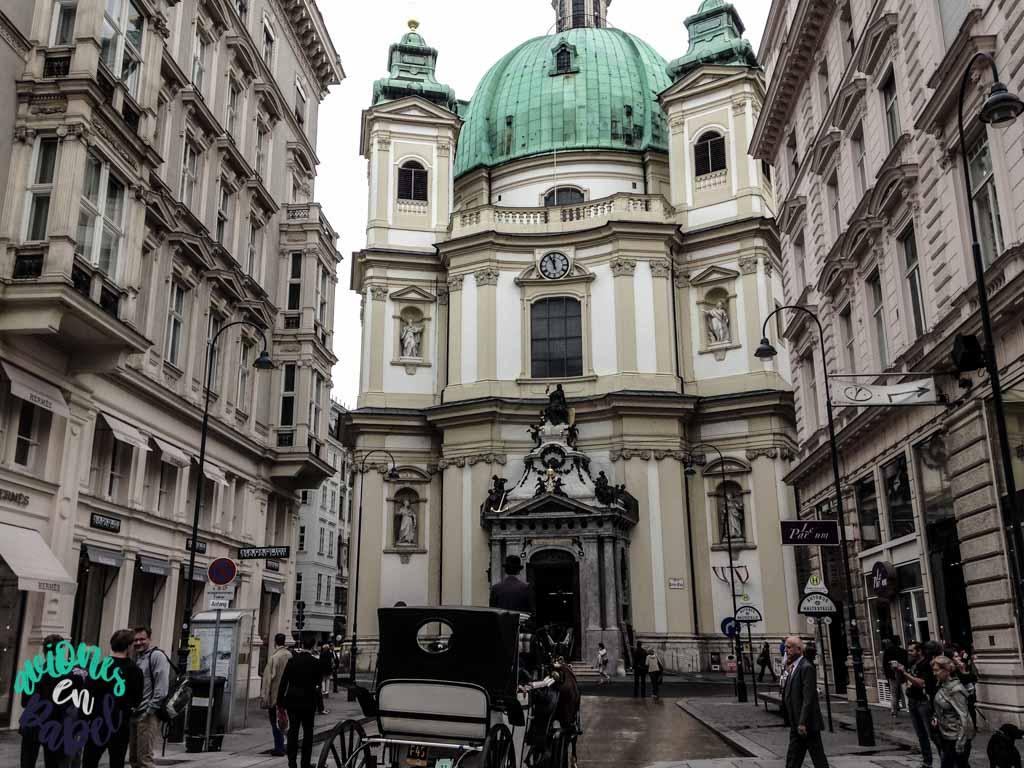 Iglesia de San Pedro. Qué ver y hacer en Viena en 3 días