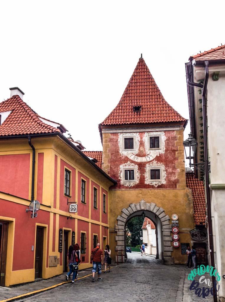 Puerta České Budějovice. Qué ver y hacer en Cesky Krumlov en 1 o 2 días