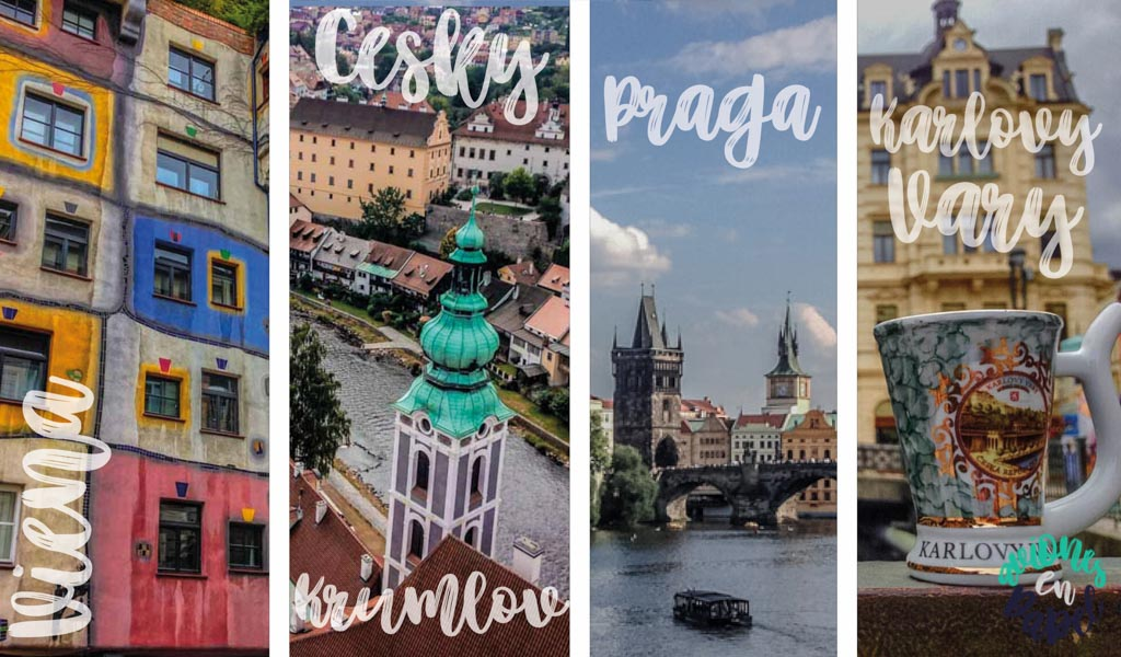 ORGANIZAR UN VIAJE POR EUROPA CENTRAL: AUSTRIA (Viena)-REPÚBLICA CHECA (Český Krumlov-Praga-Karlovy Vary)