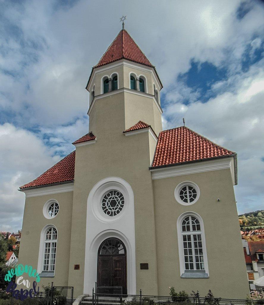 Sinagoga. Cesky Krumlov
