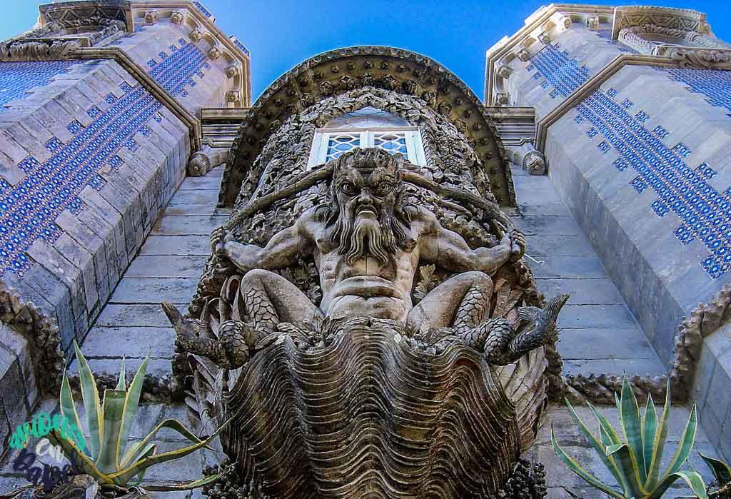 Pórtico del Triton, Palacio da Pena. Sintra