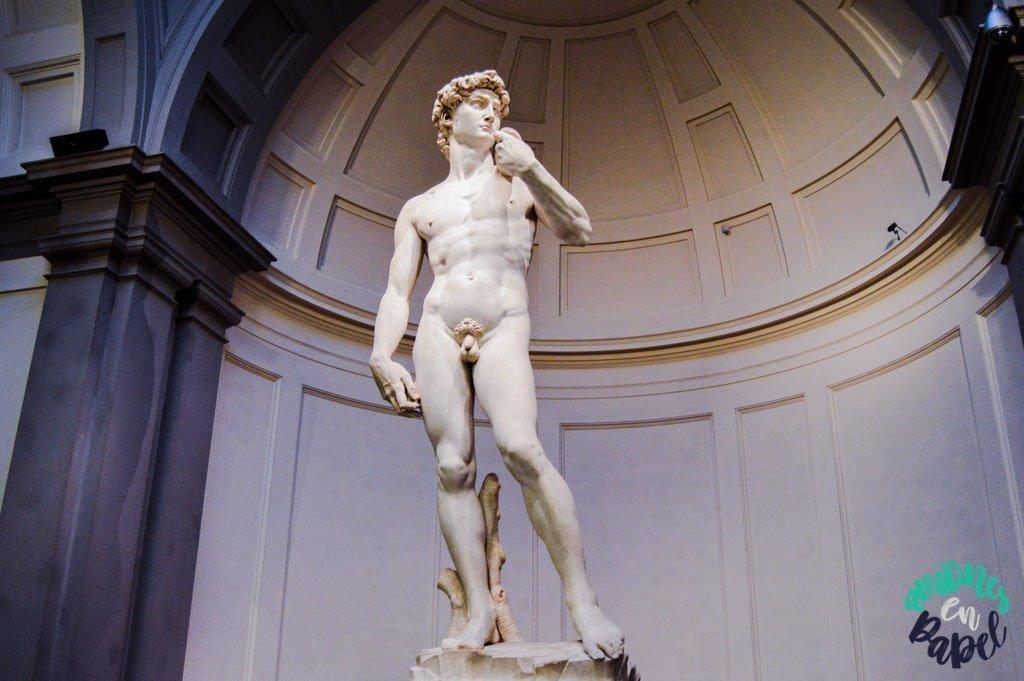 Galería de la Academia. Qué ver y hacer en Florencia en 3 días