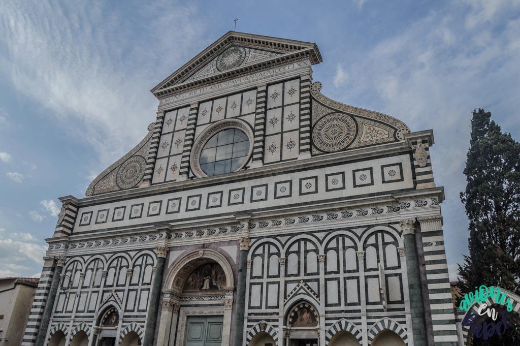 Basílica de Santa María Novella. Qué ver y hacer en Florencia en 3 días