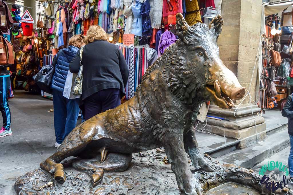 Fontana del Porcellino. Qué ver y hacer en Florencia en 3 días