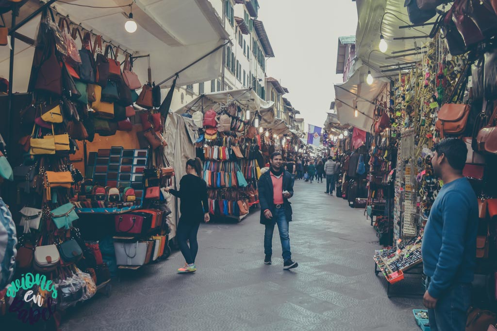 Mercado de San Lorenzo. Qué ver y hacer en Florencia en 3 días