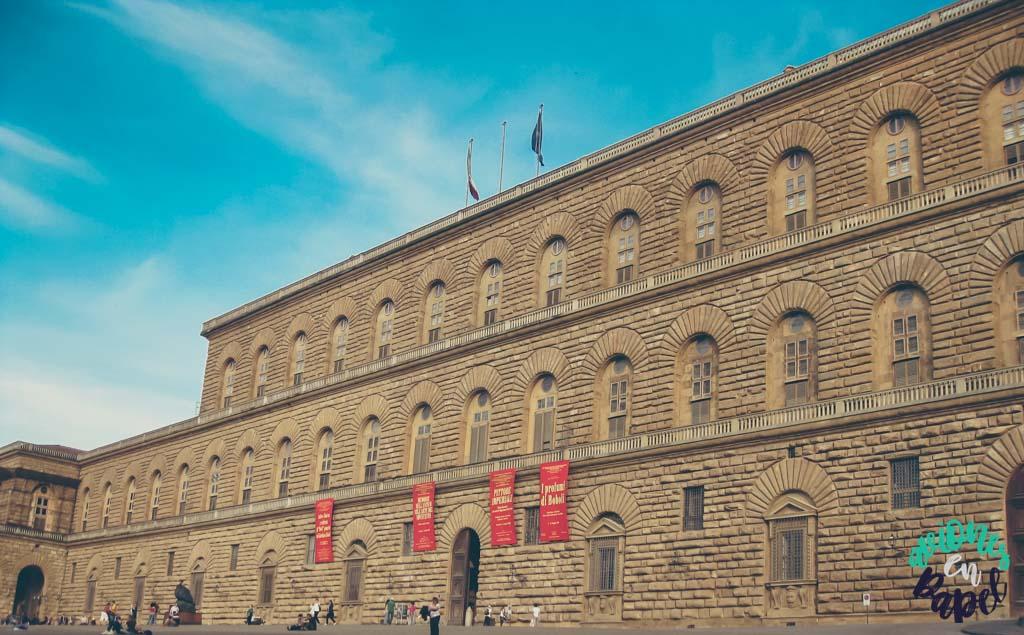 Palacio Pitti. Qué ver y hacer en Florencia en 3 días