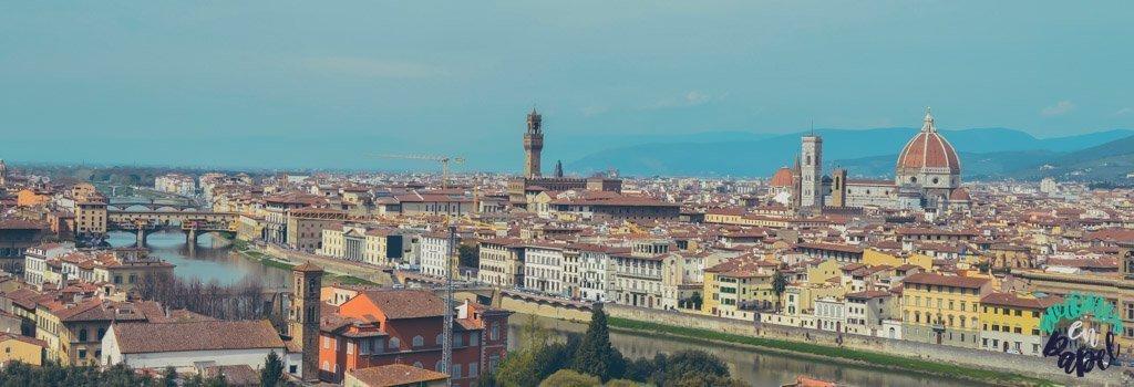 Piazzale Michelangelo. Qué ver y hacer en Florencia en 3 días
