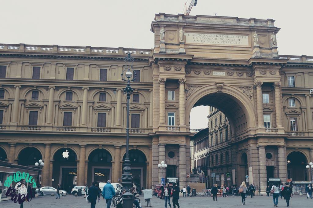 Plaza de la República. Qué ver y hacer en Florencia en 3 días