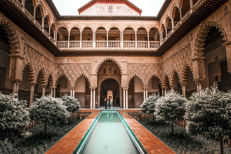 Patio de Doncellas del Real Alcázar de Sevilla