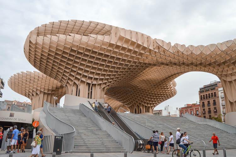 Qué ver en Sevilla en 2 días: Las Setas, Metrosol Parasol