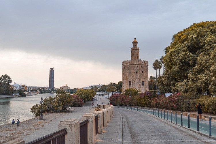 Torre del Oro - Qué ver en Sevilla en 2 días