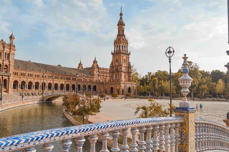 Qué ver en Sevilla en 2 días: Plaza de España