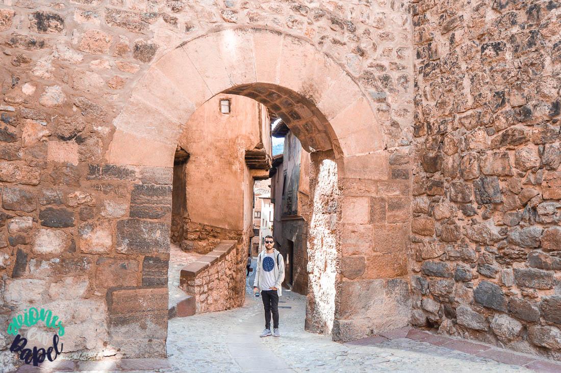 Qué ver en Albarracín en 1 o 2 días: Portal de Molina