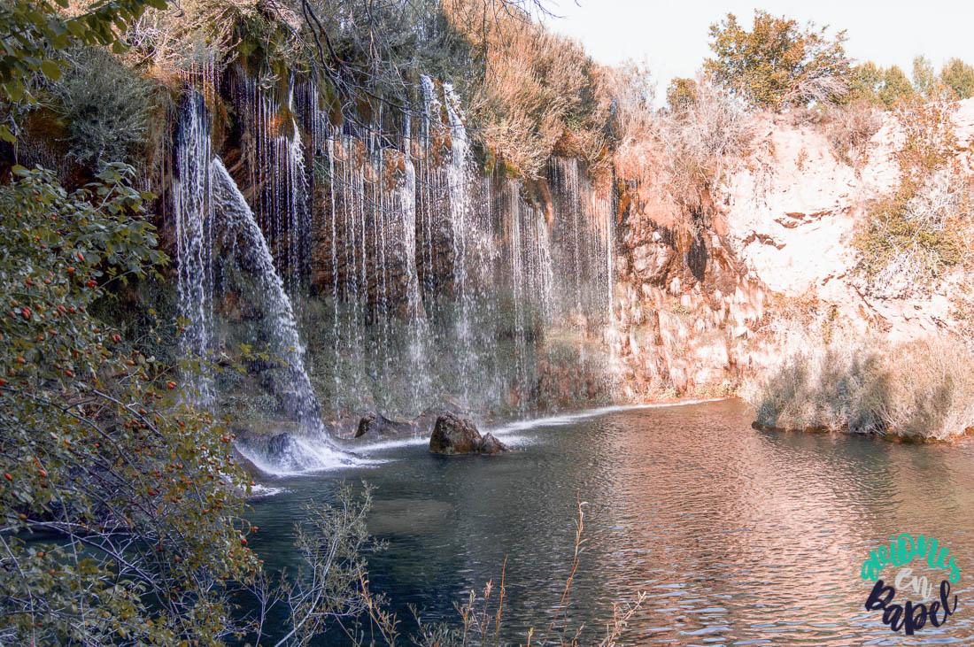 Cascada del Molino de San Pedro, cerca de Albarracín