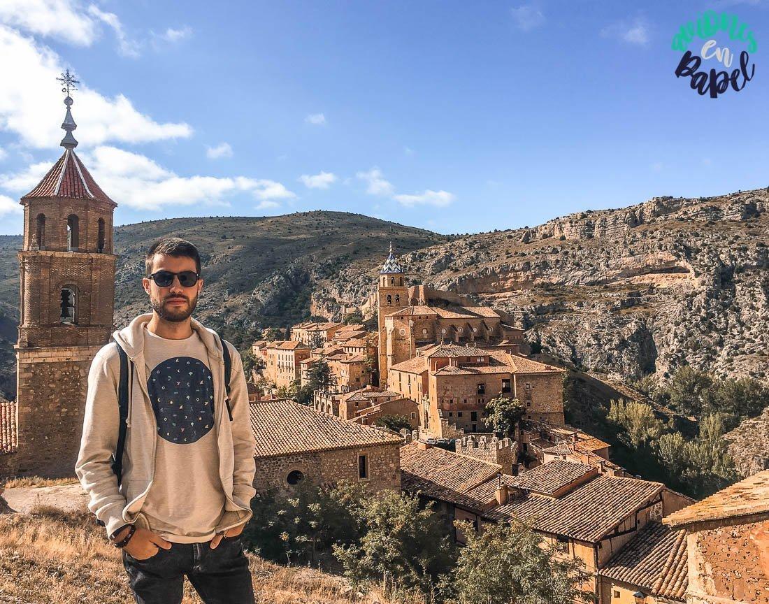 Mirador desde las murallas de Albarracín