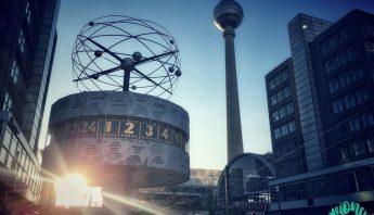 Torre de la Televisión y Reloj Mundial en Alexanderplatz, Berlín
