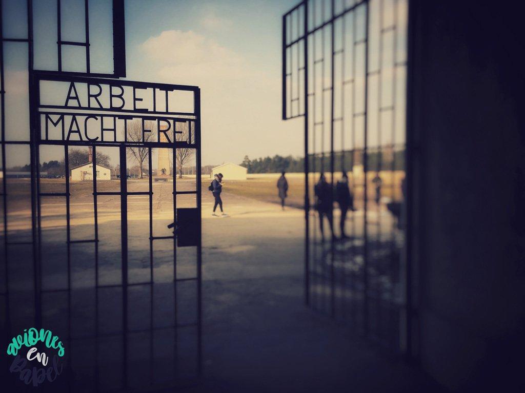 Campo de Ccnentración en Sachsenhausen, Alemania