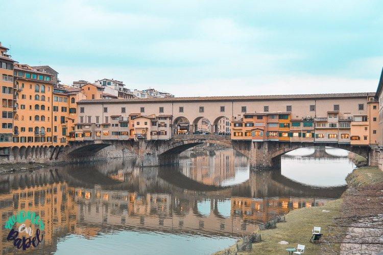 Ponte Vecchio - Qué ver y hacer en Florencia en 3 días