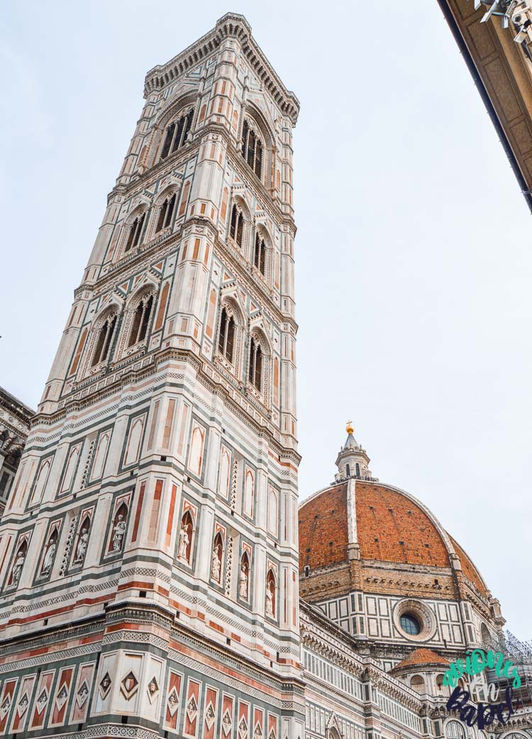 Qué ver y hacer en Florencia en 3 días: Campanario de Giorto