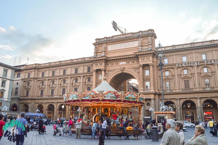 Plaza de la República, Florencia