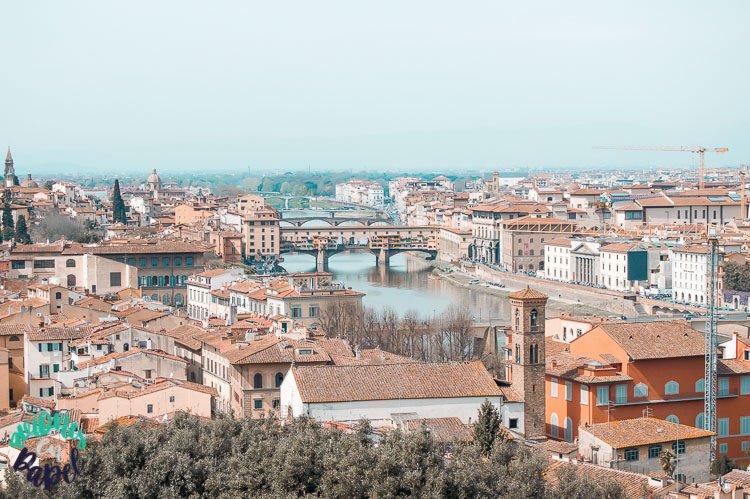 Piazzale Michelangelo - Qué hacer en Florencia en 3 días