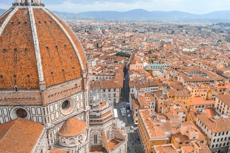 Vistas de Florencia desde el Campanario de Gioto, Florencia