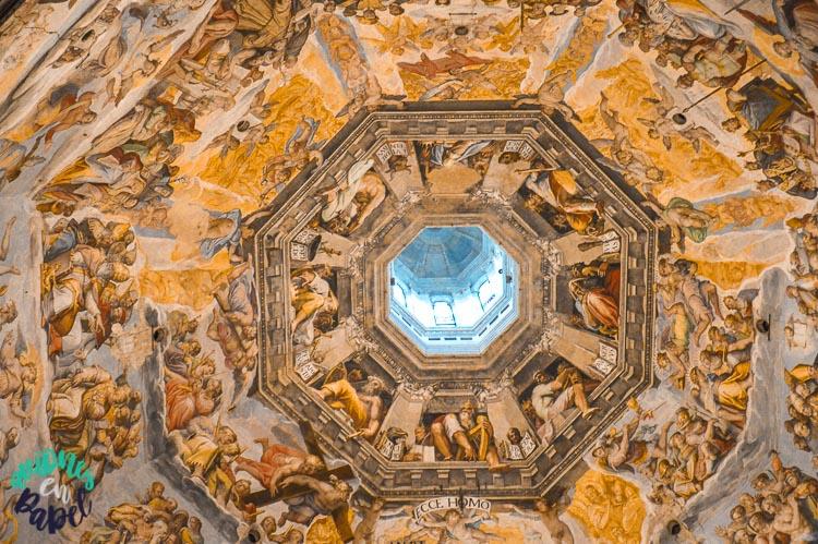 Cúpula del Duomo de Brumelleschi en la Catedral de Florencia
